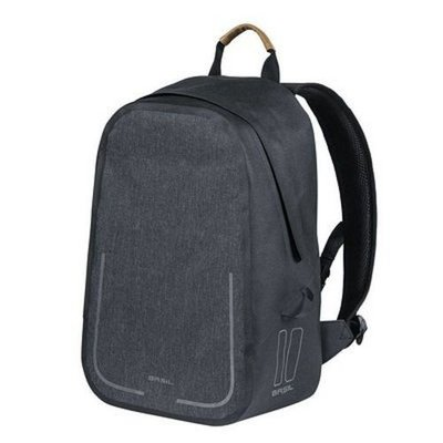 Basil Urban Dry Backpack Charcoal Mêlee 18L Grijs