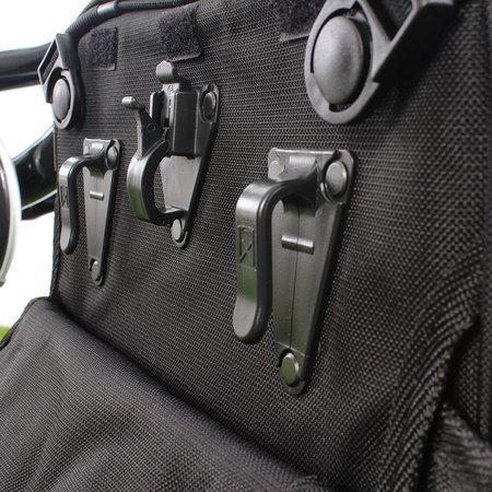 Willex Kantoortas annex fietstas, aktetas, schoudertas, rugzak van 20 liter - multifunctioneel!