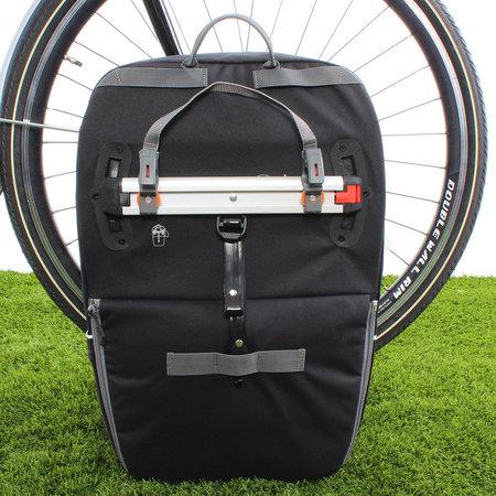 Vaude Enkele fietstas Cycle 28 Black Uni 28L Zwart