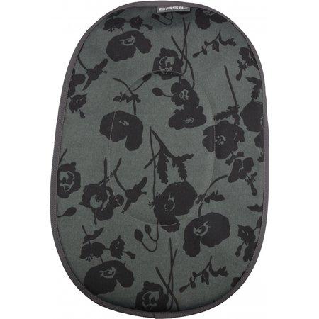 Basil Kussen Voor Hondenmand Pluto 50 cm grijs/bloemenprint