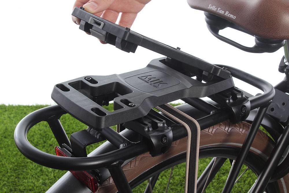 Hoe een fietsmand bevestigen?