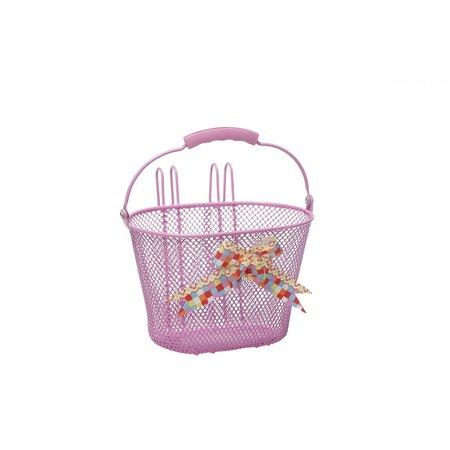 New Looxs Kinderfietsmand Asti Arabella Pink