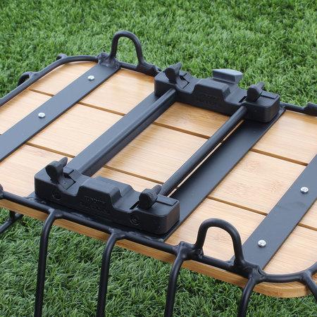 Racktime Baskit Breeze - 25L - aluminium en bamboe - zwart