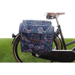 New Looxs Enkele fietstas/pakaftas Lilly 18L Zarah Blue