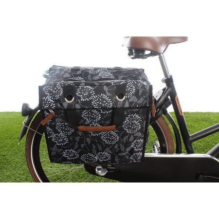 New Looxs Enkele fietstas/pakaftas Lilly 18L Zarah Black