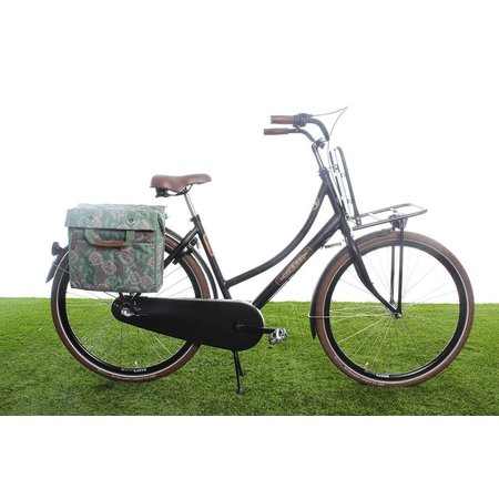 New Looxs Enkele fietstas/pakaftas Lilly 18L Zarah Green