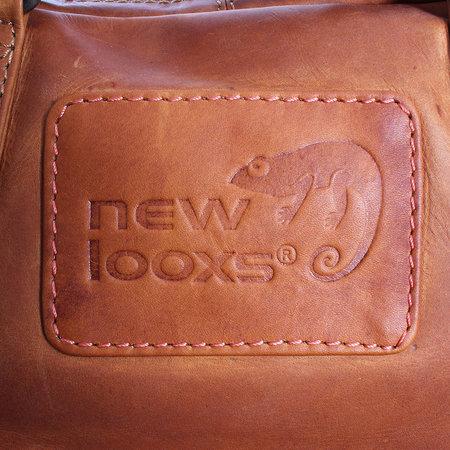 New Looxs Enkele Fietstas Santos 13L Cognac