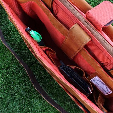 New Looxs Enkele Fietstas Barolo 12L Cognac - Leren schoudertas