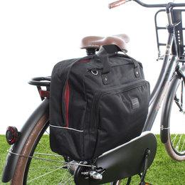 New Looxs Enkele fietstas Postino Single 18L Zwart