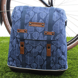 New Looxs Enkele Fietstas Alba Single Folla Blue 15L