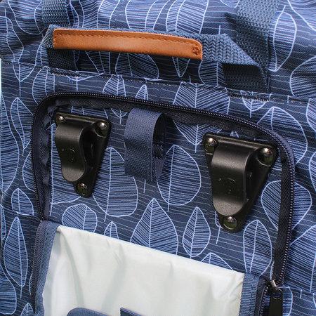 New Looxs Enkele Fietstas Alba Single Folla Blue 15L - pakaftas en schoudertas