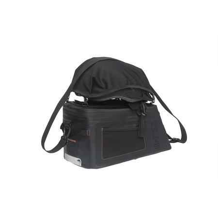 New Looxs Varo Trunkbag Racktime 15L Zwart - waterdicht