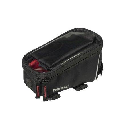 Basil Frametas Sport Design 1 liter Zwart met smartphone venster