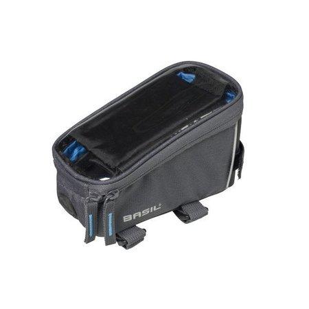 Basil Frametas Sport Design 1 liter Grijs met smartphone venster