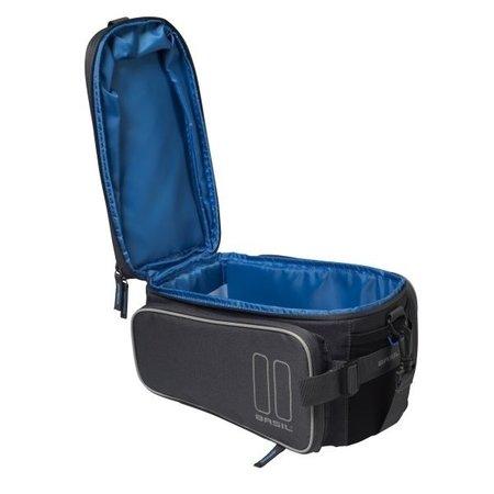Basil Bagagedragertas Sport Design Trunkbag MIK 7-15L Grijs