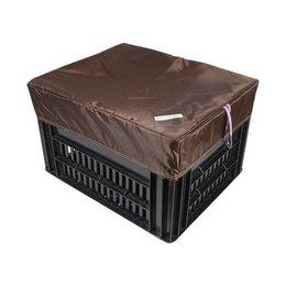 Hooodie Box M Bruin voor Kerri Fietskrat