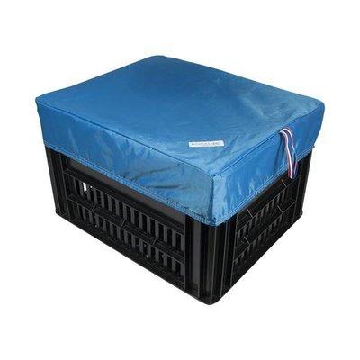 Hooodie Box M Blauw voor Kerri Fietskrat