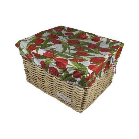 Hooodie Box L Tulips Red voor Fietsmand of Fietskrat