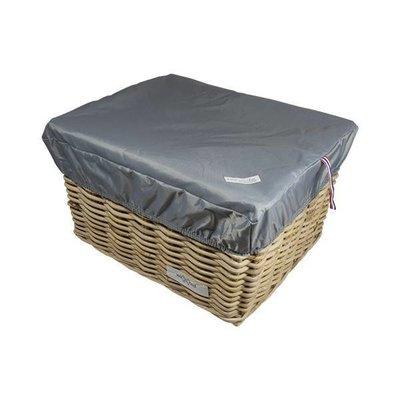 Hooodie Box L Zilver voor Fietsmand of Fietskrat