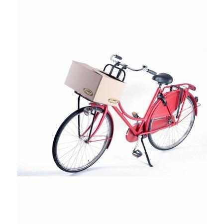 Steco Transport voordrager Original voor fietsen volwassenen - zwart