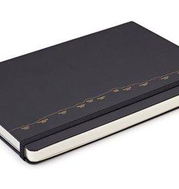 Notizbuch mit Alpenpanorama