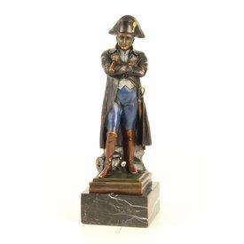 Napoleon met telescoop (kleur)