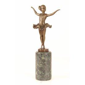 Kleine ballerina in balans