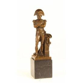 Napoleon in triumphant pose