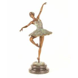 Sierlijke balletdanseres