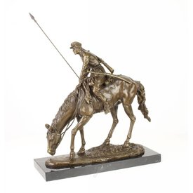 Soldier on horseback