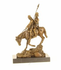Producten getagd met bronze cossack statue