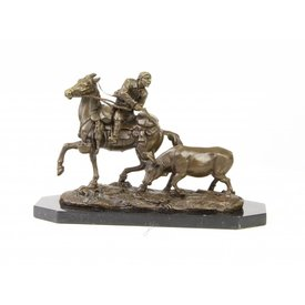 Hunter on horseback