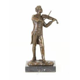 Viool speler / Johann Strauss