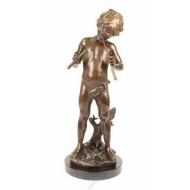 Fluitspelende Griekse god Pan