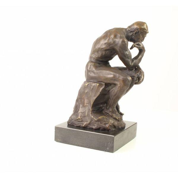 Bronze sculpture of The Thinker