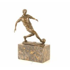 Een voetbal speler