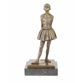 A BRONZE SCULPTURE OF A LITTLE DANCER AGED FOURTEEN