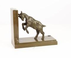 Producten getagd met bronze butting goat bookend