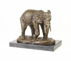 Producten getagd met big 5 elephant bronze