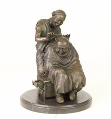 Producten getagd met barber shaving head sculpture