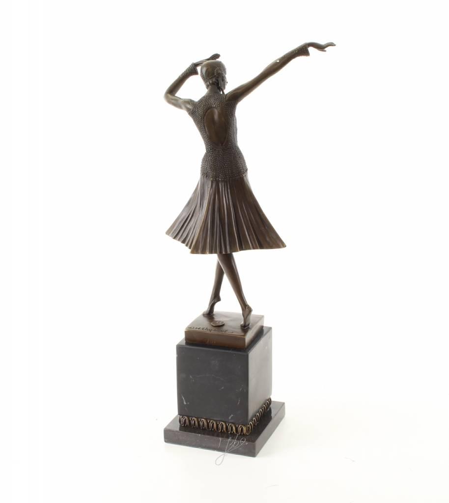 Art Deco Style Bronze Sculpture Called Miro Yourbronze Com