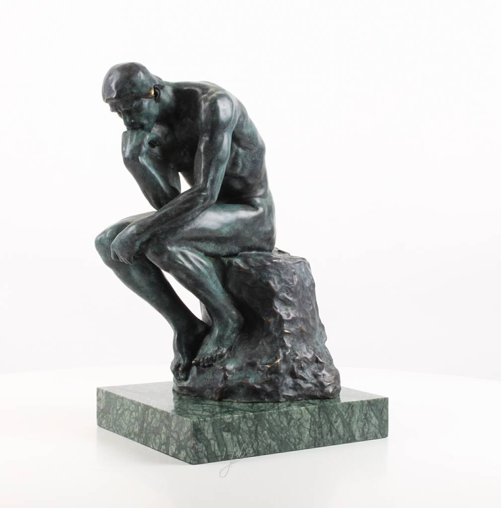 Thinker >> A Bronze Sculpture Of The Thinker After Rodin Yourbronze Com