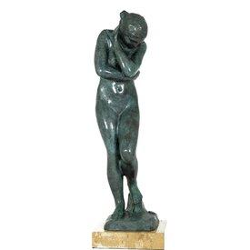 Bronzen beeld van Eve