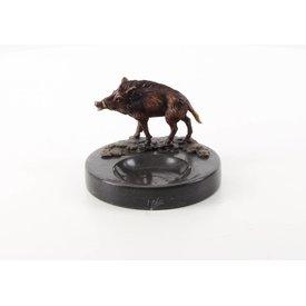 Wild boar ashtray