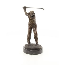 Een golfer