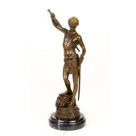 David's victory over Goliath