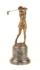 Bronzen sport beelden