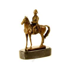 Bronzen militaire en jacht beelden