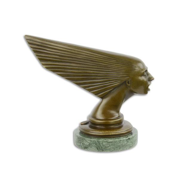 Bronzen Art Deco car mascot