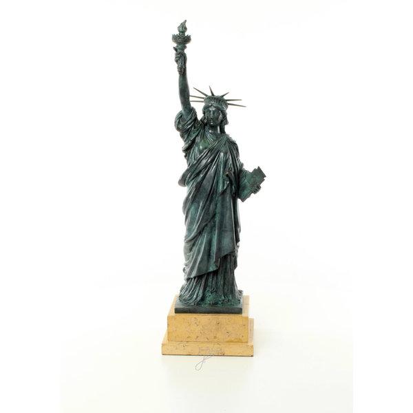 Bronzen sculptuur van het Amerikaans Vrijheidsbeeld